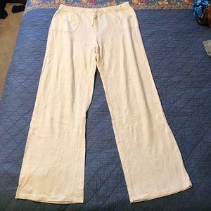 Gaiam Cream / Ivory Lounge Pants